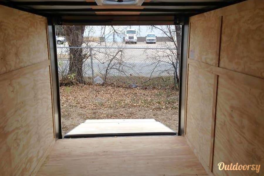 interior 7X12 Enclosed Cargo Trailer Mt Juliet, TN