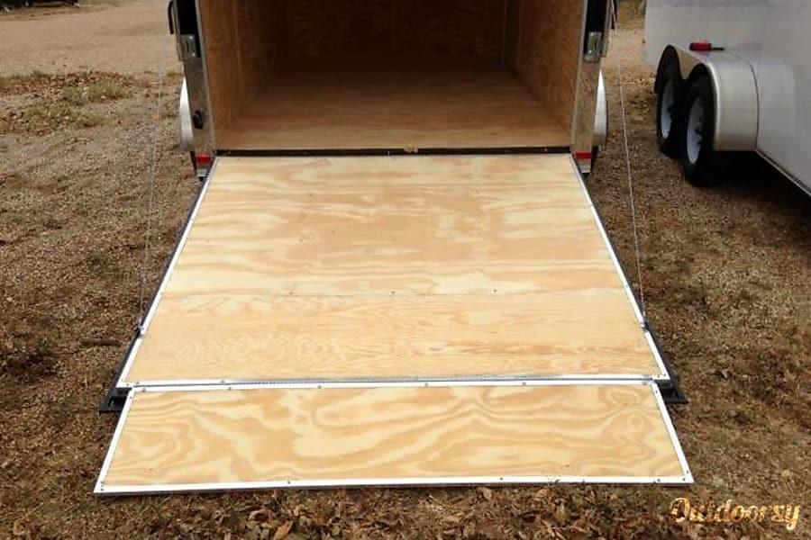 interior 7X12 Enclosed Cargo Trailer-Free Unlimited miles per day! Hermitage, TN
