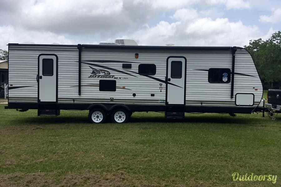 "exterior 2017 Jayco Jay Flight 287 ""THE VACATIONER"" Rosharon, TX"