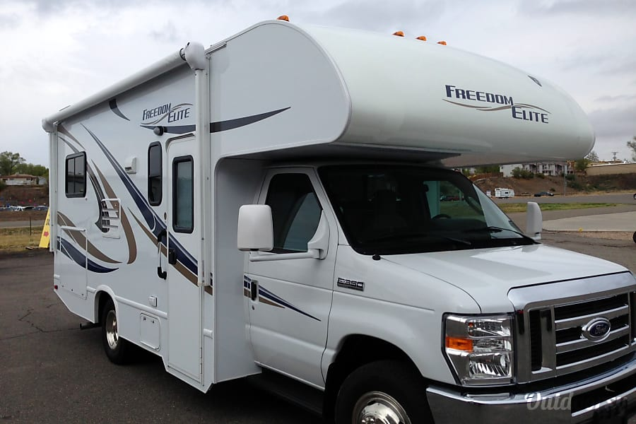 exterior 2015 21' Thor Freedom Elite Grand Junction, CO