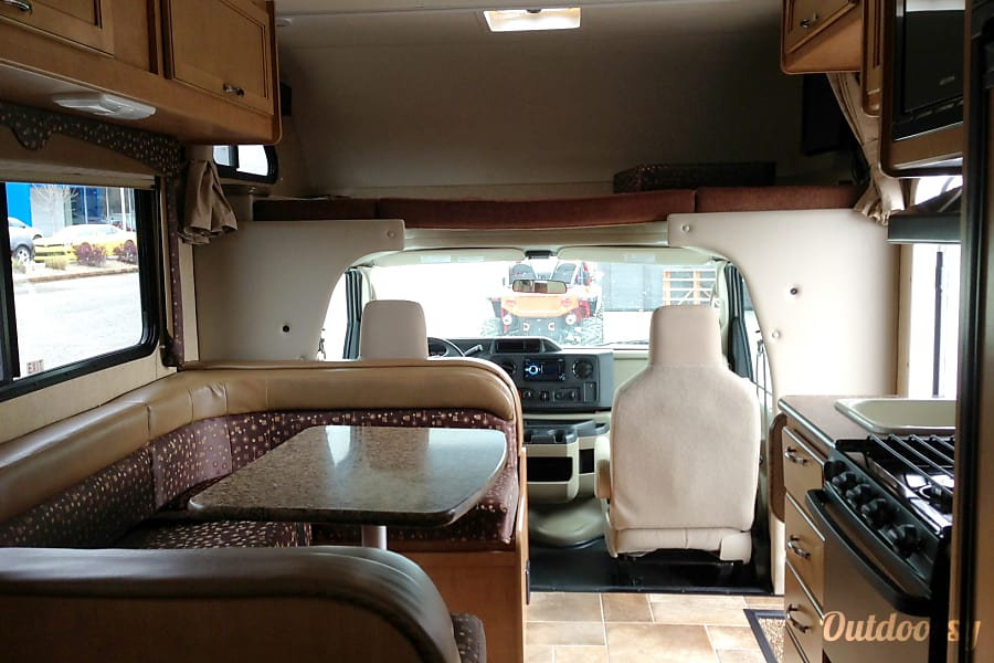 interior 2015 21' Thor Freedom Elite Grand Junction, CO