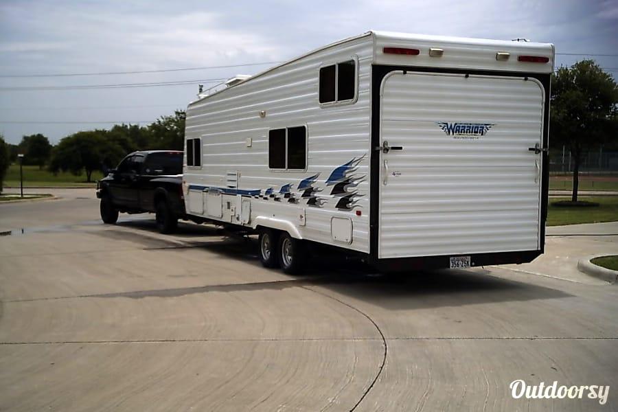 exterior 2002 Toy Hauler, Weekend Warrior Travel Trailer RV Gig Harbor, WA