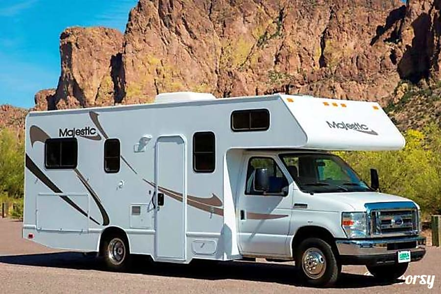 exterior 2012 Majestic 23A, Leisure Craft The ultimate family RV  Grizzly 1 Millcreek, UT