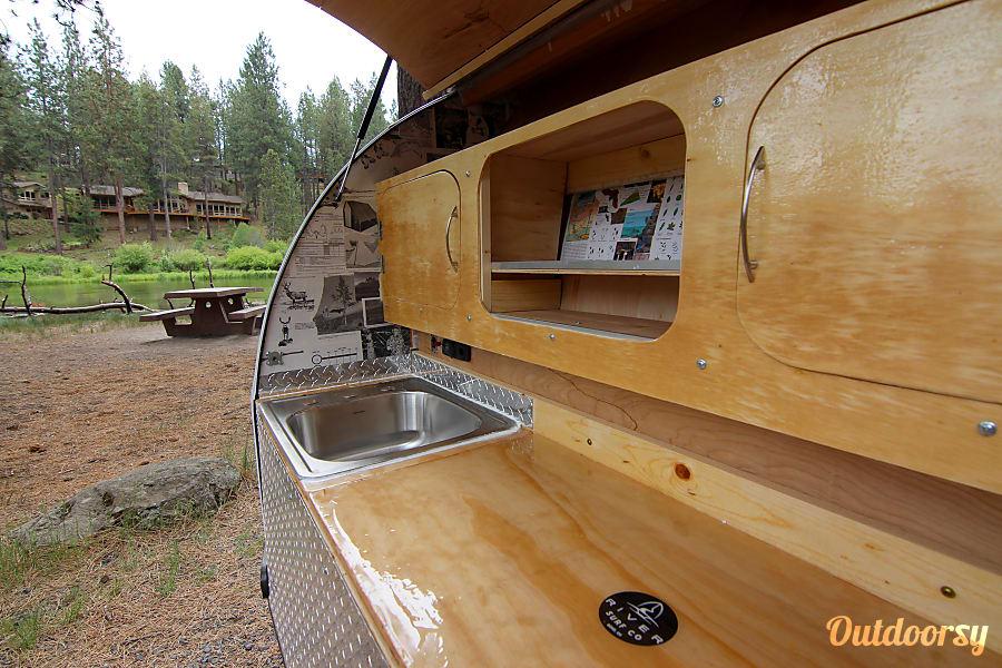interior 2017 Custom Teardrop Camper Bend, OR