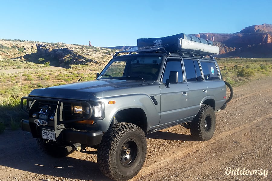 exterior 1988 Toyota Land Cruiser FJ 62 Golden, CO