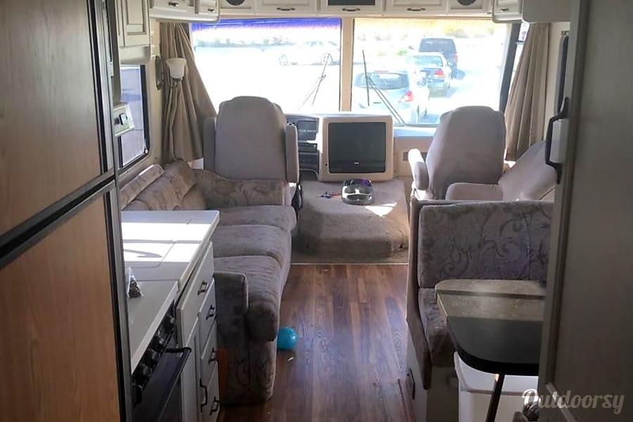 interior 1997 Georgie Boy 32' Class A RV Winchester, California