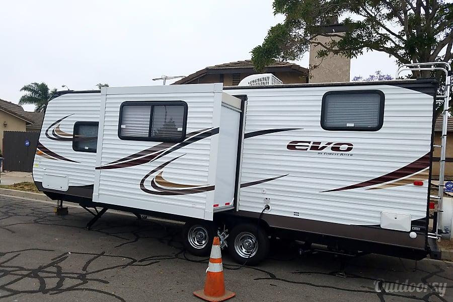 exterior Home away from home. Oxnard, CA