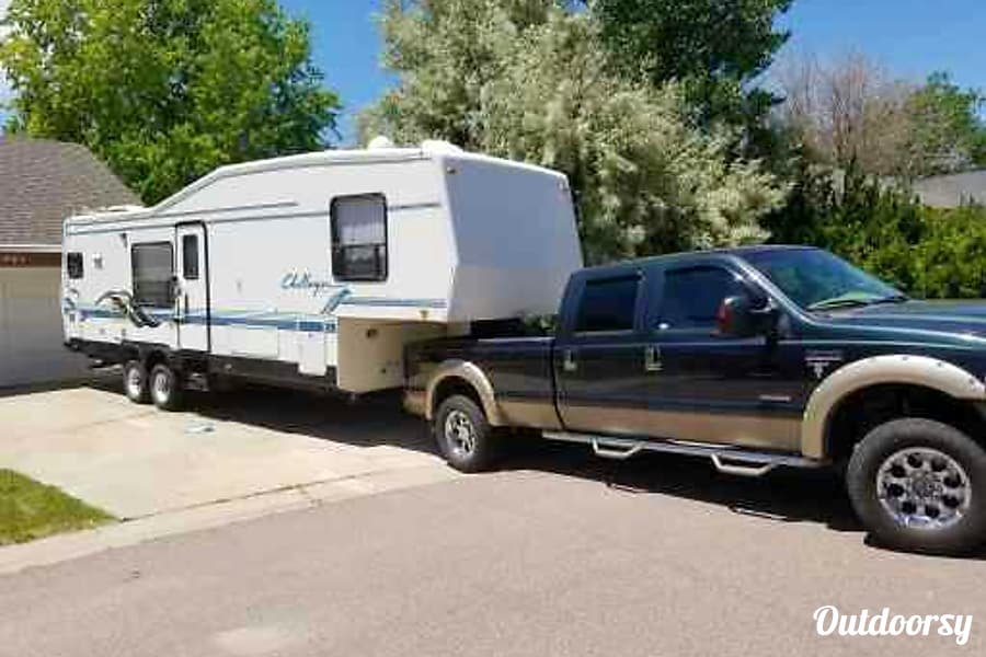 1996 Damon Challenger Fifth Wheel Rental In Parker Co