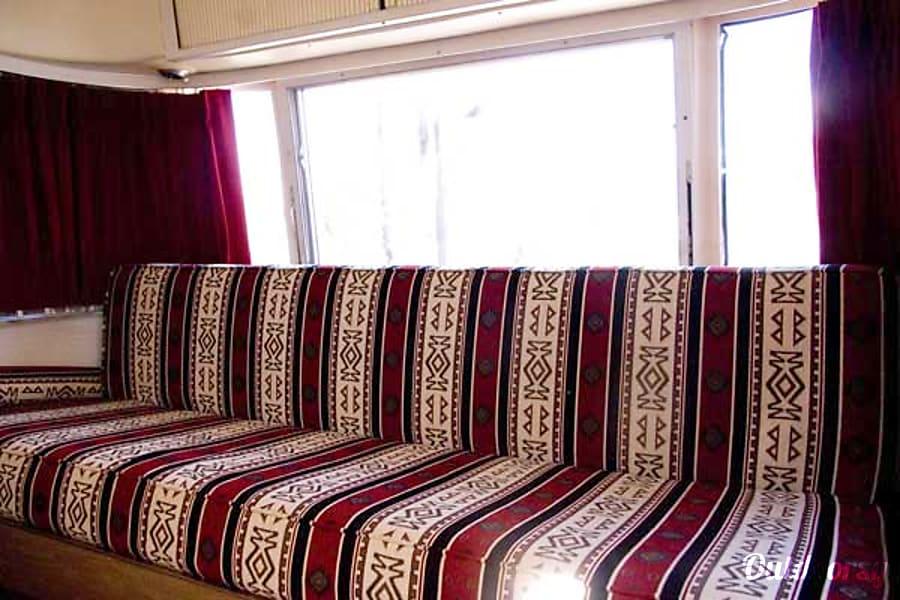 1973 Airstream Safari Phoenix, AZ Front Couch/Bed