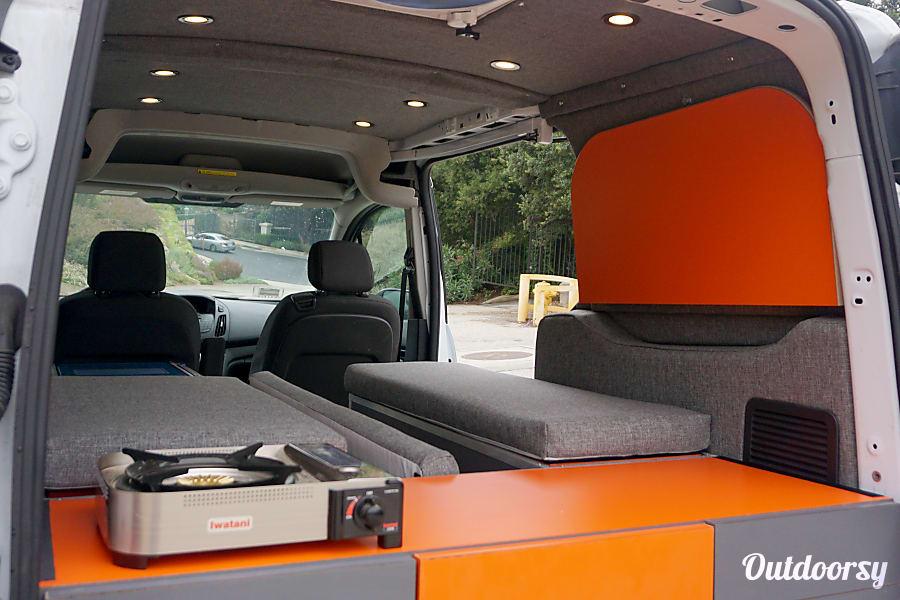 2016 ford transit connect motor home camper van rental in for Motor homes los angeles