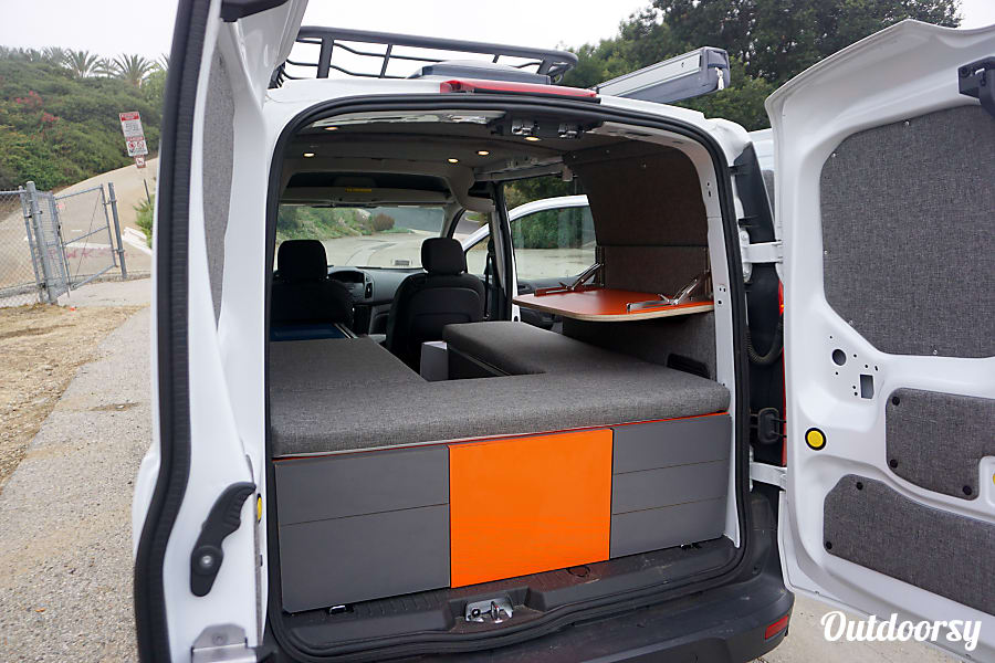 2016 Ford Transit Connect - Pacifica Vans Conversion Los Angeles, CA