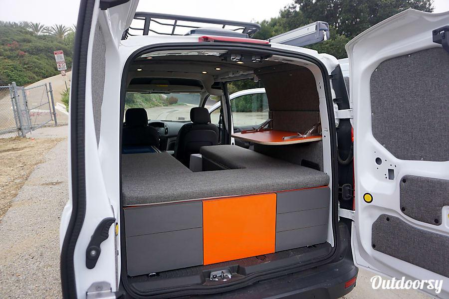 2016 ford transit connect motor home camper van rental in los angeles ca outdoorsy. Black Bedroom Furniture Sets. Home Design Ideas