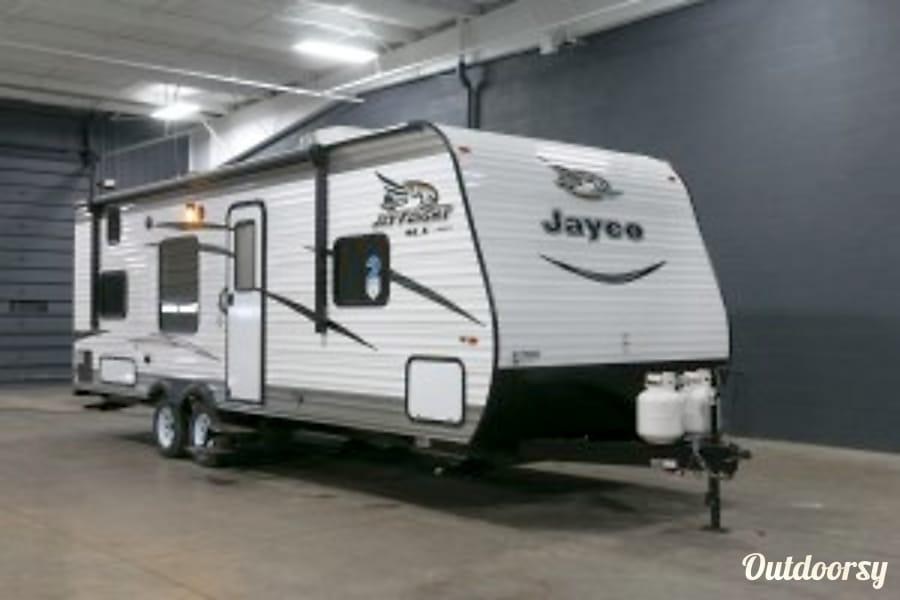 exterior 2017 Jayco Jay Flight SLX BHW Gadsden, AL