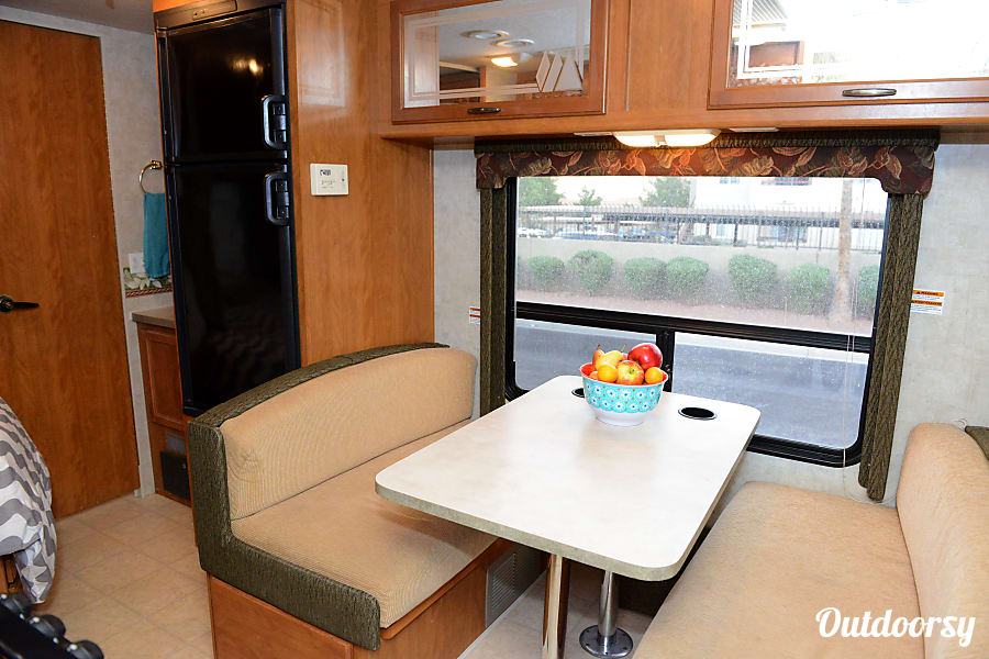 """2005 Fleetwood Tioga 23""""...  which we call the """"Camper Car."""" Las Vegas, NV"""