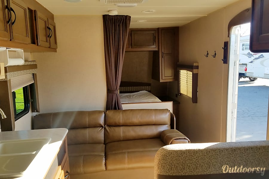 interior 2015 JAYCO JAY FLIGHT Sanger, CA