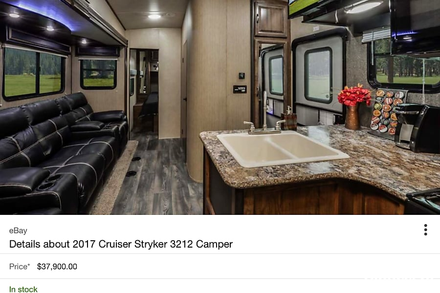 undefined stryker 3212 Jamestown, KY The inside is very comfortable 4 reclining seats