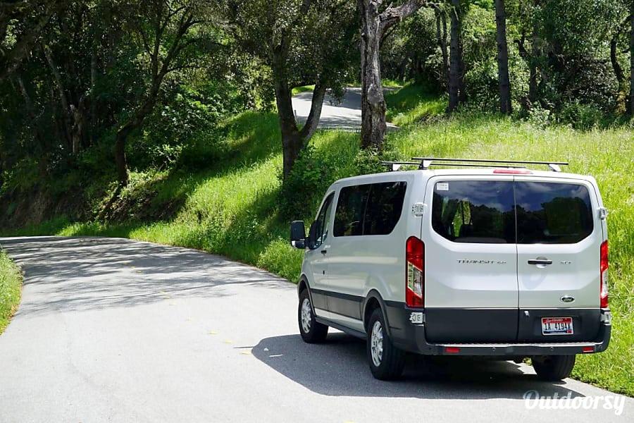 exterior 2016 Ford Transit Campervan #1 South San Francisco, CA