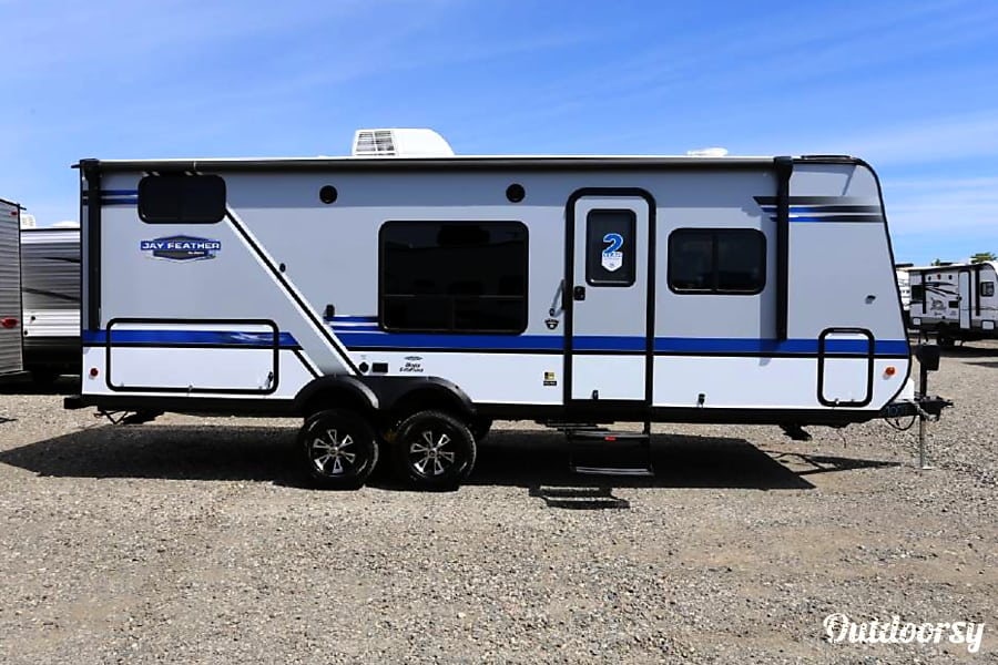 exterior 2018 Jayco Jay Feather 22 BHM Denver, CO