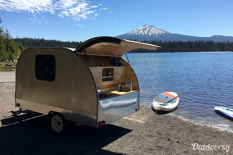 exterior 2017 Custom Teardrop Camper Bend, OR