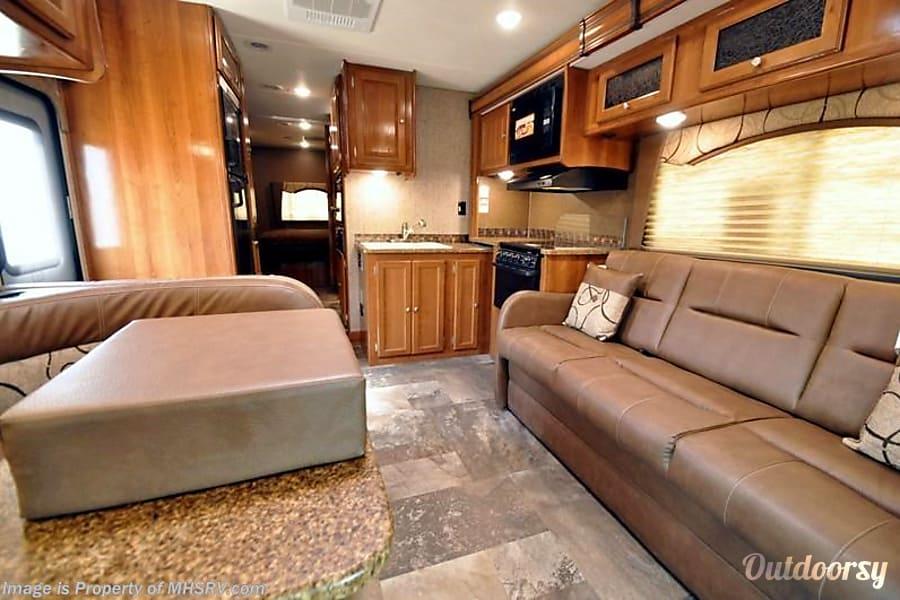 interior 2018 Coachmen Leprechaun-1 #109 Austin, TX