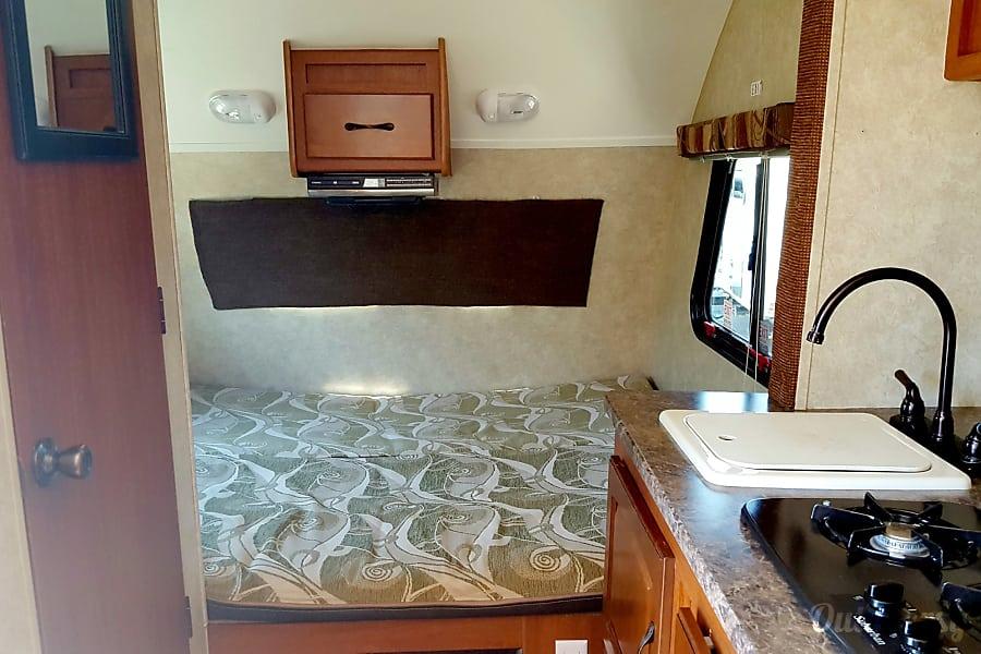 """interior 2011 Forest River R-Pod """"SOLAR UNIT"""" 177 Durango, CO"""