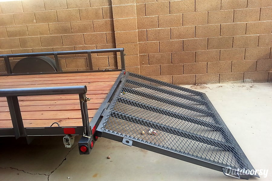 2015 Big Tex 6.5'x12' Utility Trailer Gilbert, AZ