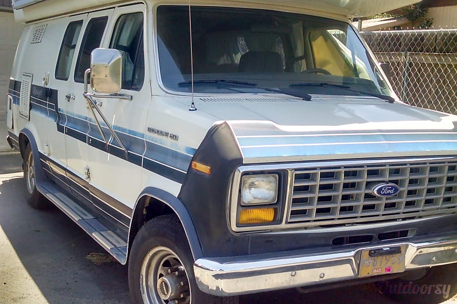 exterior 1988 Ford Okanagan Hood River, OR