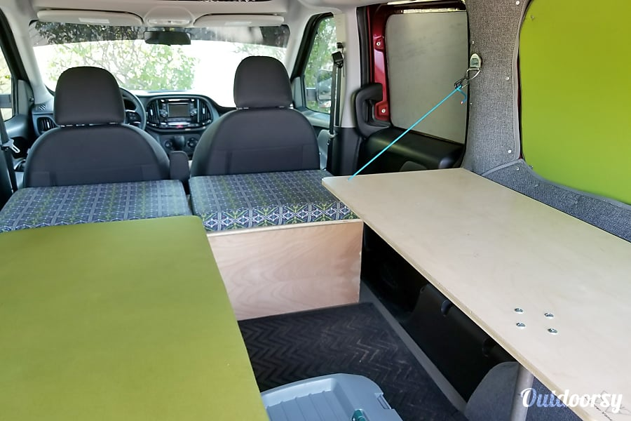 Brand New Camper Van - Ram ProMaster City Cottonwood Heights, Utah