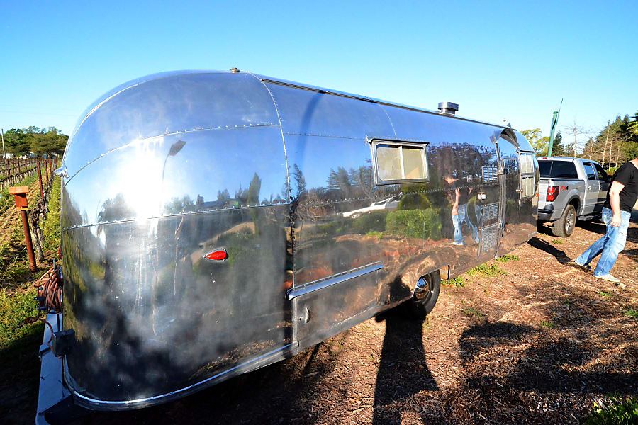 1958 Airstream Overlander nicknamed ROOSTER St. Helena, CA