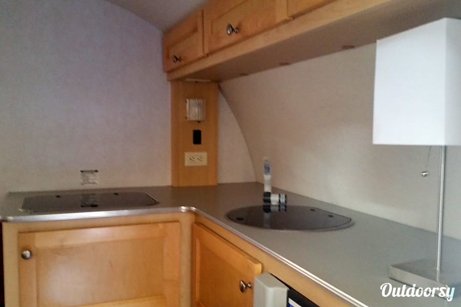 Silver FOX - 2009 T@B Teardrop Trailer    **Available Labor Day weekend** Roseville, California