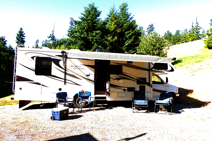 2016 Jayco Greyhawk FK31 Camano Island, WA Two gravity full recline chairs and two new fold up with table chairs. One 5 day ice chest provided as well. More if you need!