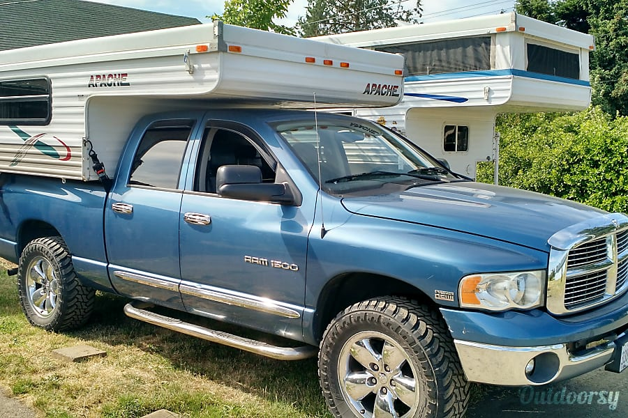 "Truck Camper ""Everglades"" Fully Outfitted+Solar! Sheridan, OR"