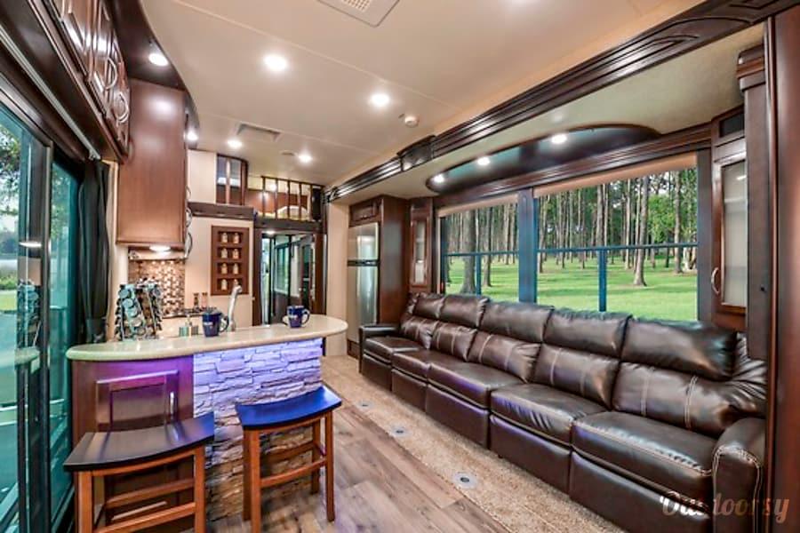 interior 2015 Heartland Cyclone Orlando, FL