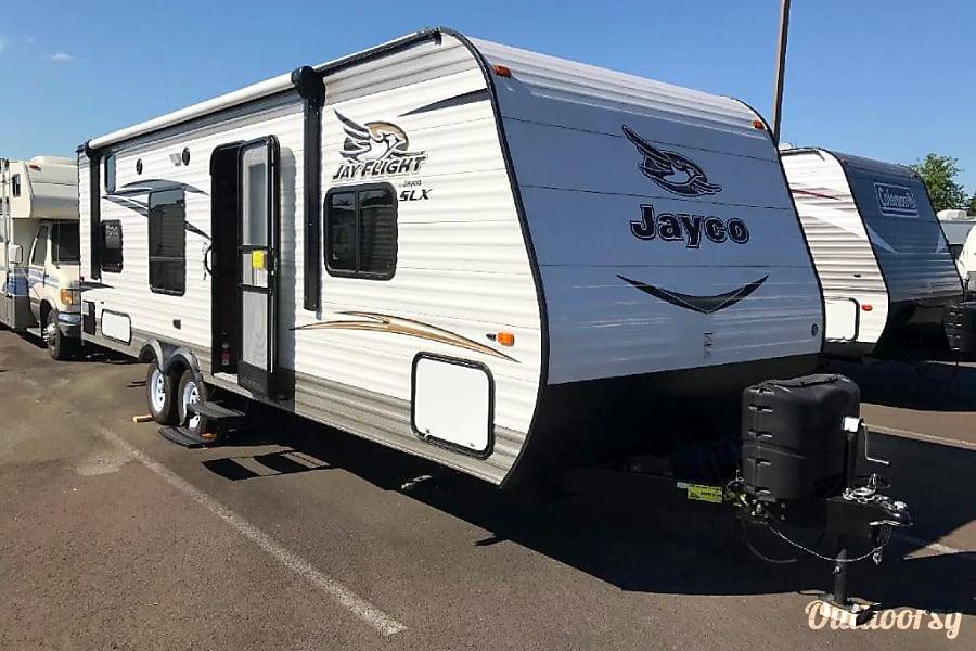 exterior 2017 Jayco Jay Flight SLX 264BHW Camas, Washington
