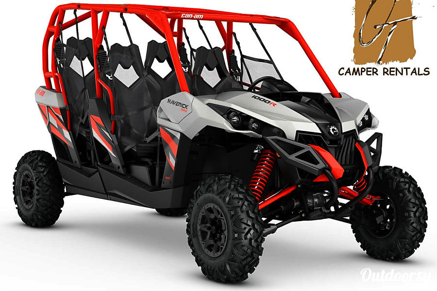 2017 Can Am Maverick 4 Seater >> 2017 Can Am Maverick 1000r Dps 4 Seater Motor Home Other Rental In