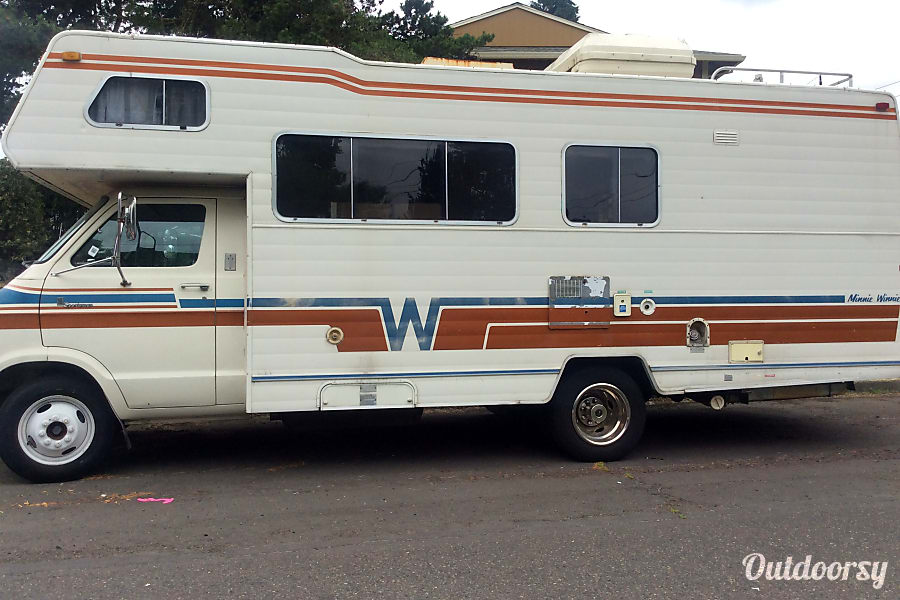 1978 Dodge Winnebago Portland, Oregon Side