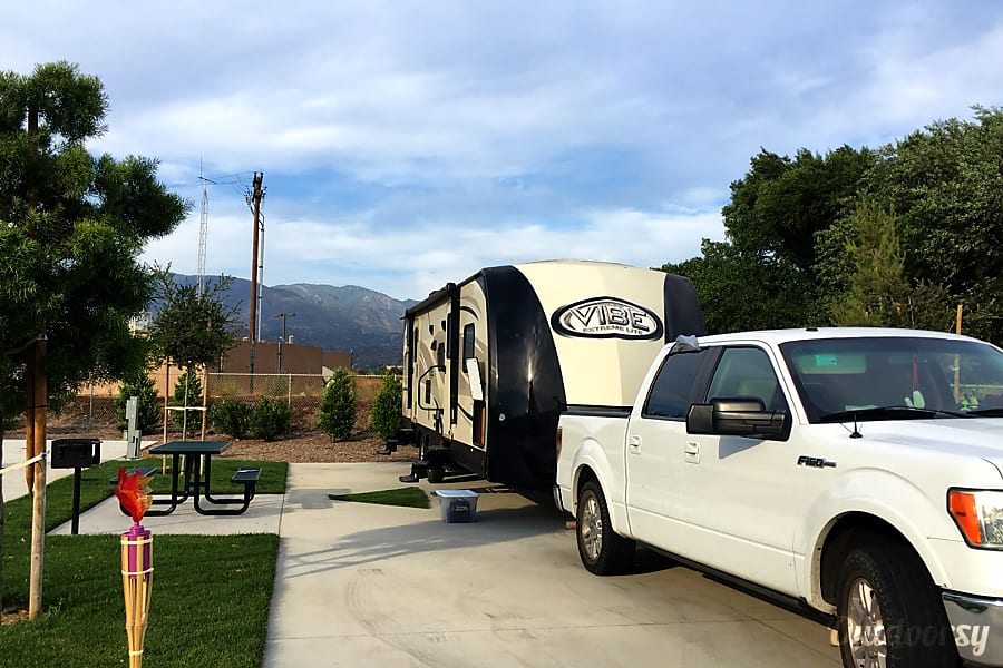 New Forest River Vibe Extreme Light With Bunkhouse Phoenix, Arizona Can be pulled with a half-ton pickup