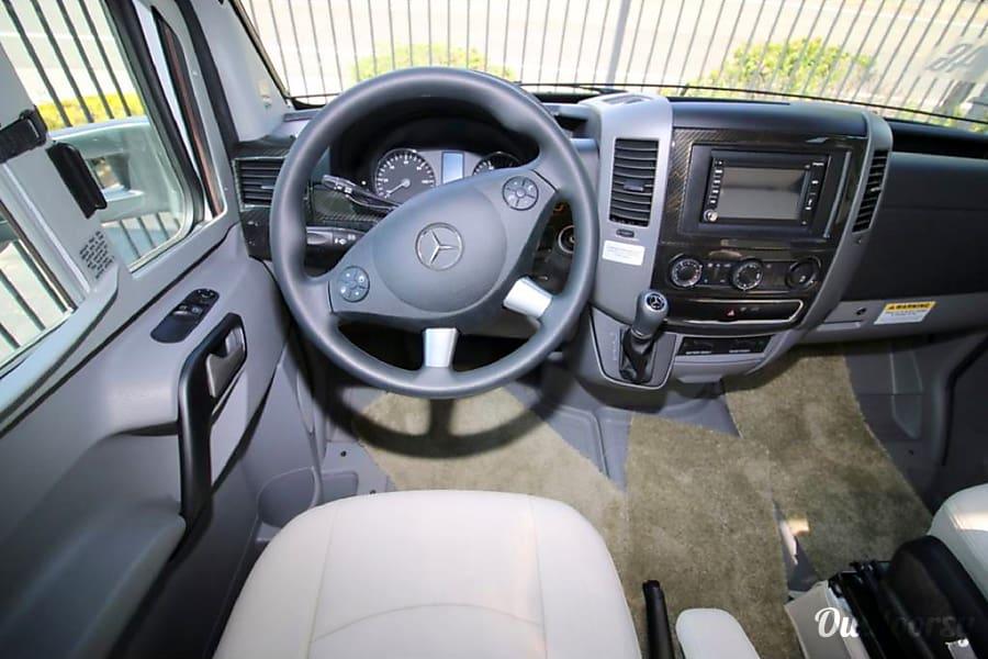 2017 Winnebago/Itasca Navion 24G San Jose, CA Mercedez Sprinter Chassis with diesel 5-speed engine