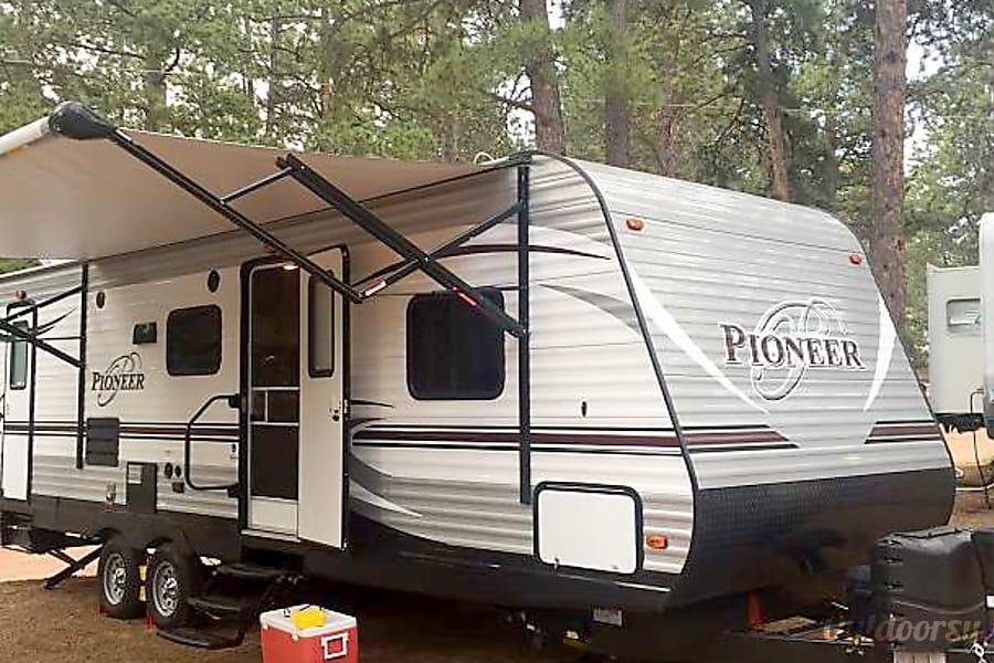 exterior 2016 Heartland Pioneer Greeley, CO
