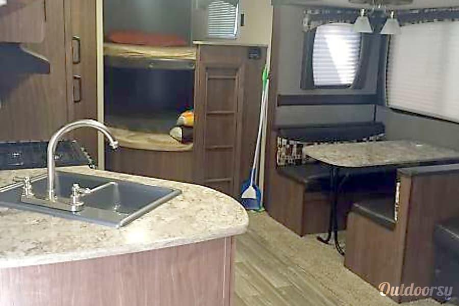 interior 2016 Heartland Pioneer Greeley, CO