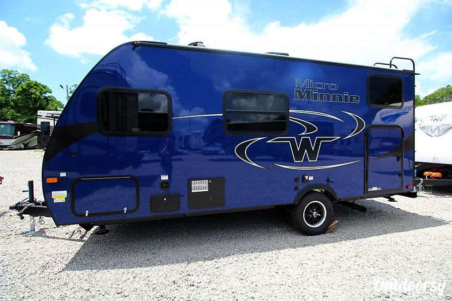 car rental placerville ca  2018 Winnebago Micro Minnie Trailer Rental in Placerville, CA ...