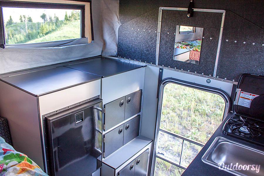 Hawk Four Wheel Camper on Chevy Silverado Jackson, WY