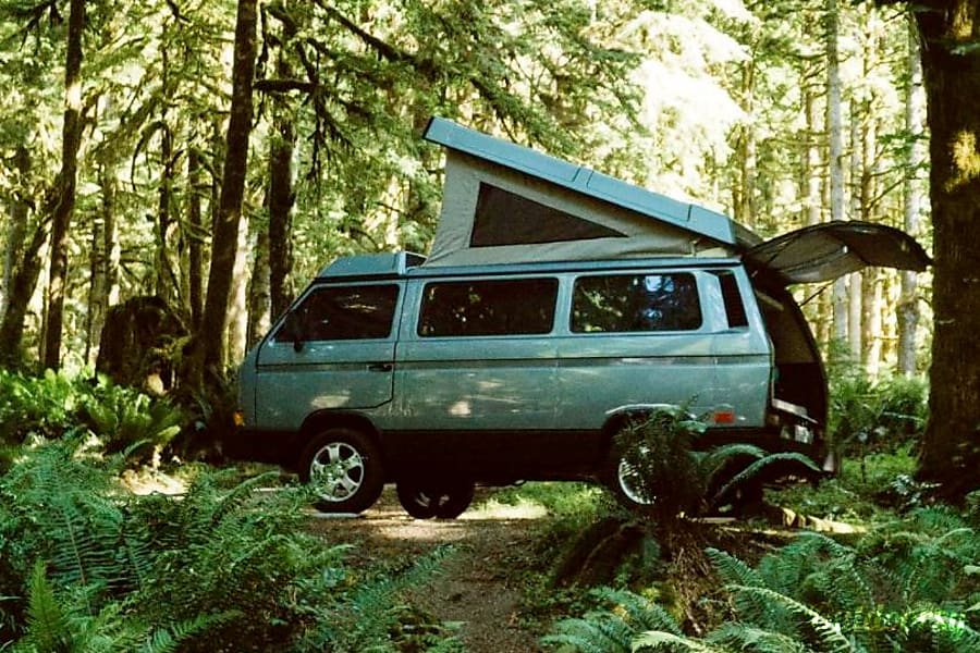 Peace Vans #6: Whatcom - 1987 VW Vanagon Weekender Seattle, WA