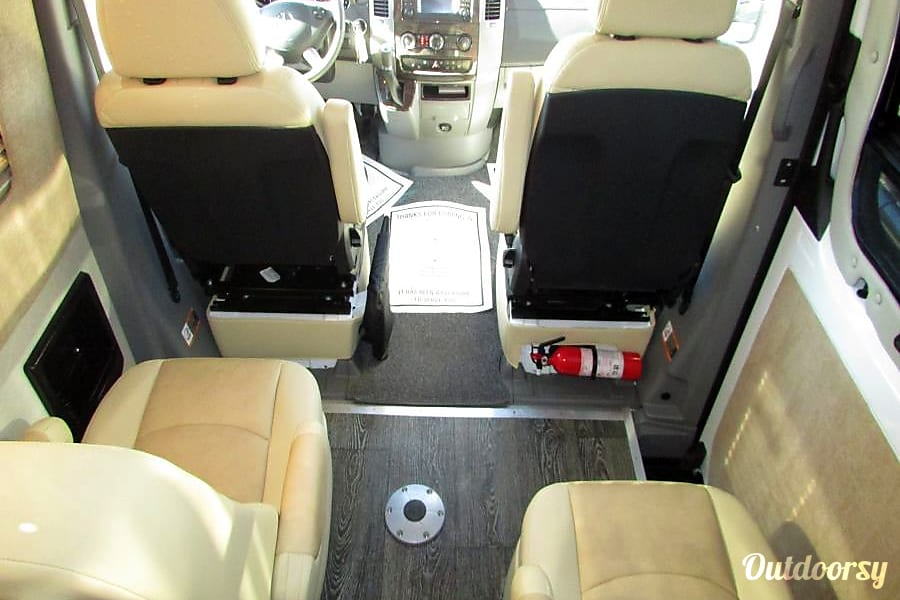interior 2016 Mercedes Sprinter - (Sleeps 4) Boise, ID