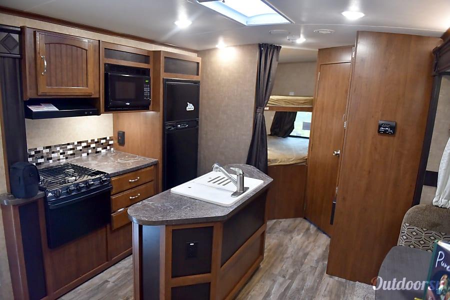 interior 2017 Jayco White Hawk Spokane Valley, WA