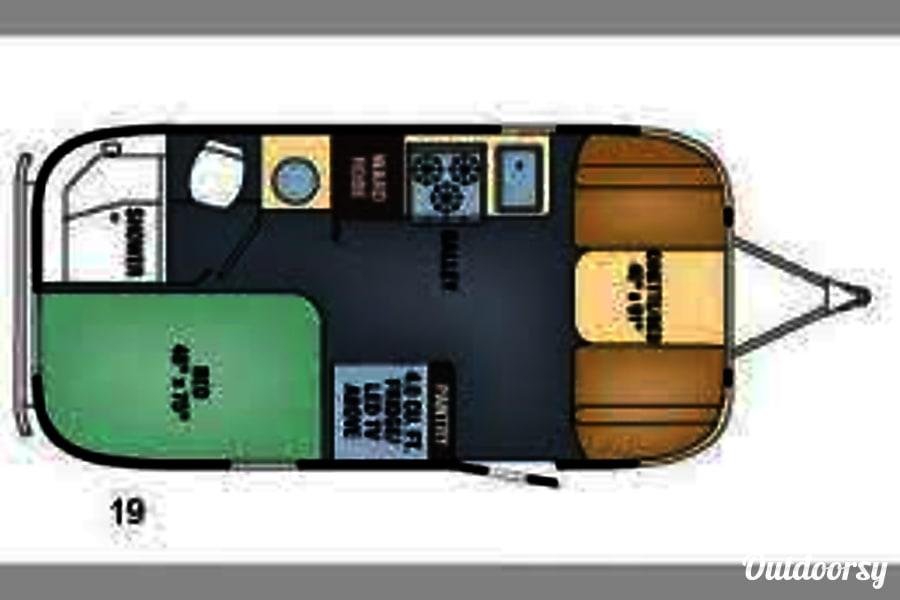 2016 Airstream International Serenity 19ft Sausalito, CA