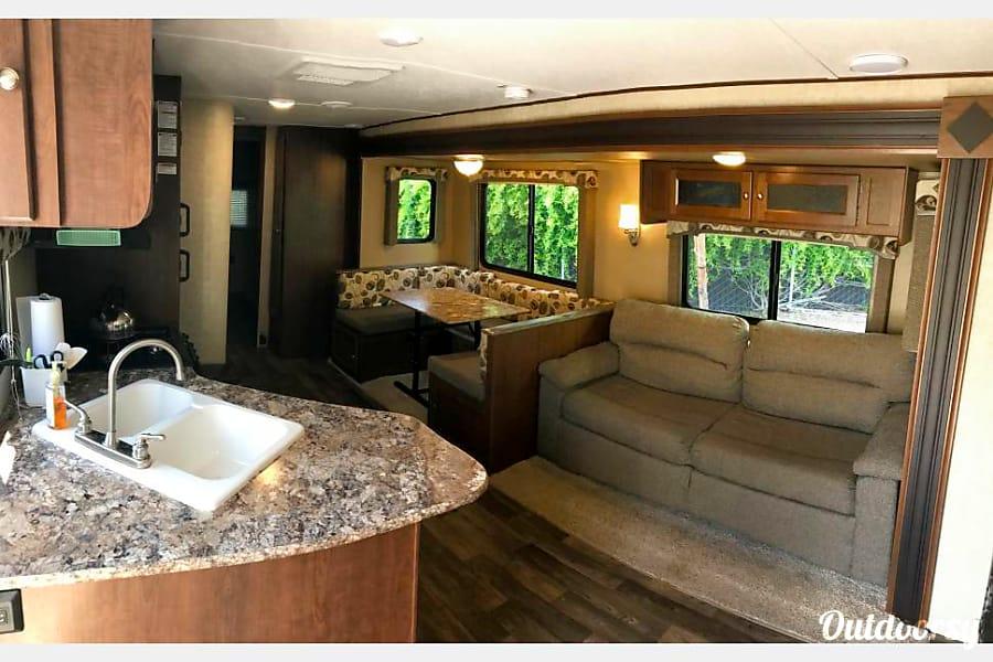 interior 2016 Keystone Hideout McKinney, TX