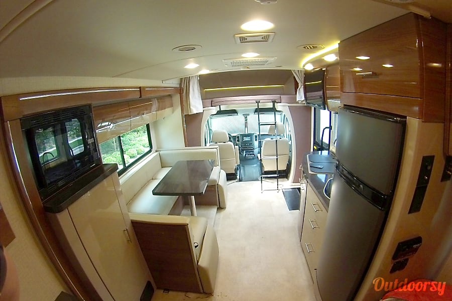 interior 2015 Winnebago View Irvine, California