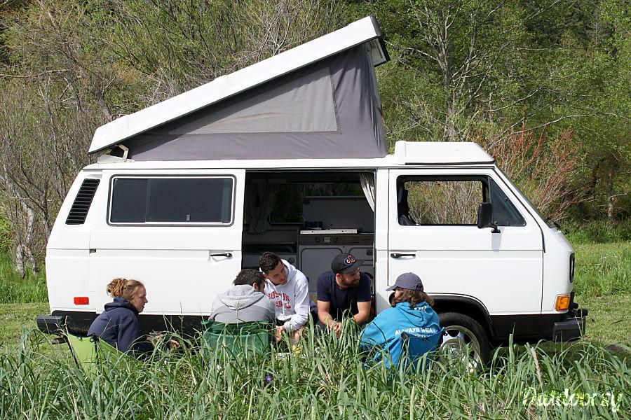 exterior Van #2 - Burt Bainbridge Island, WA