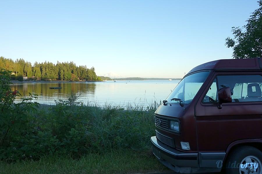 exterior PacWesty Van #3 - Rosie Bainbridge Island, WA